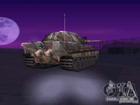 Pzkpfw VII Tiger II para GTA San Andreas vista direita