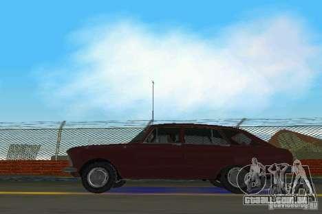 Kombi IZH-2125 para GTA Vice City vista traseira esquerda