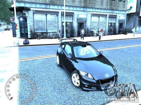Honda Mugen CR-Z para GTA 4 esquerda vista