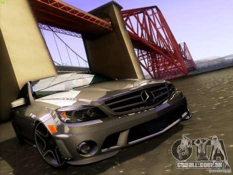 Mercedes-Benz C36 AMG para o motor de GTA San Andreas