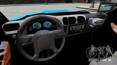 Chevrolet Blazer 2010 PMERJ ELS para GTA 4 vista de volta
