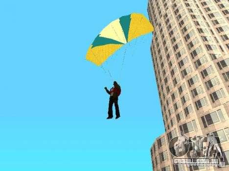 Pára-quedas de TBOGT para GTA San Andreas