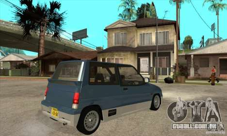Suzuki Alto Works para GTA San Andreas vista direita