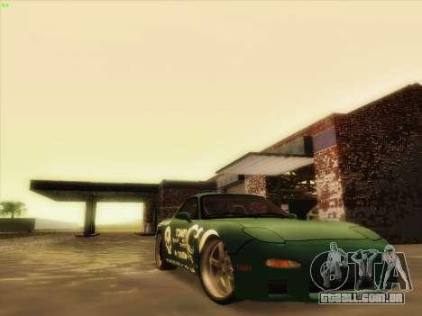 Mazda RX7 rEACT para GTA San Andreas