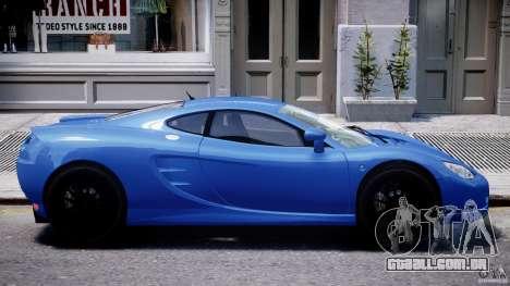 Ascari KZ-1 para GTA 4 vista inferior