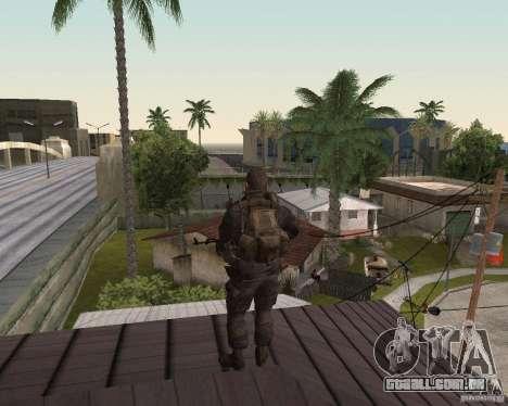 Alex Mason para GTA San Andreas segunda tela