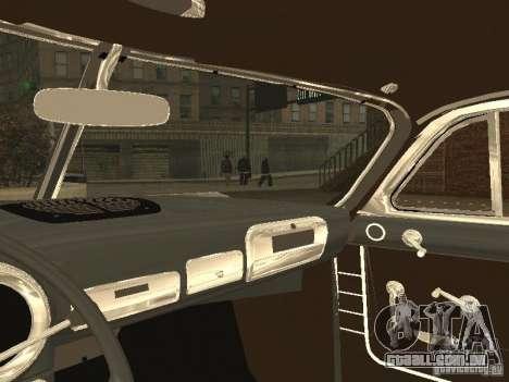 Hudson Hornet 1952 para GTA San Andreas vista traseira