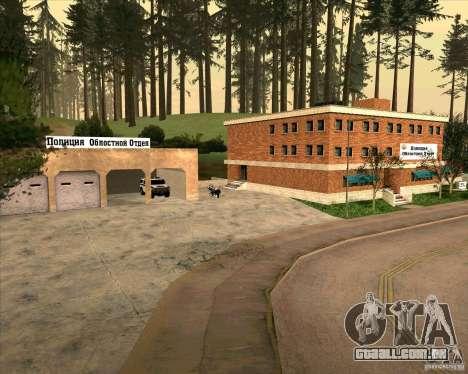 Priparkovanyj transporte v 1.0 para GTA San Andreas sexta tela