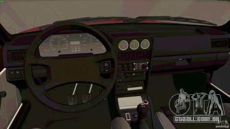 Audi Sport quattro 1983 para GTA San Andreas vista traseira