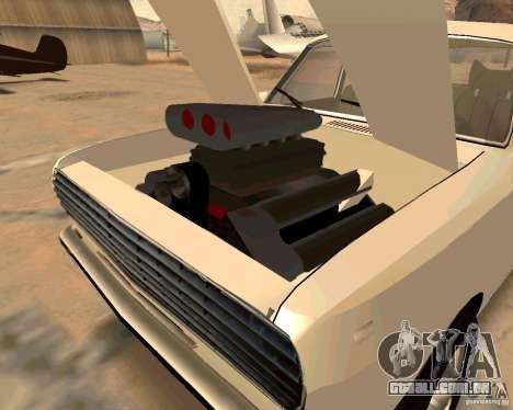 GAZ Volga 2410 Hot Road para GTA San Andreas interior