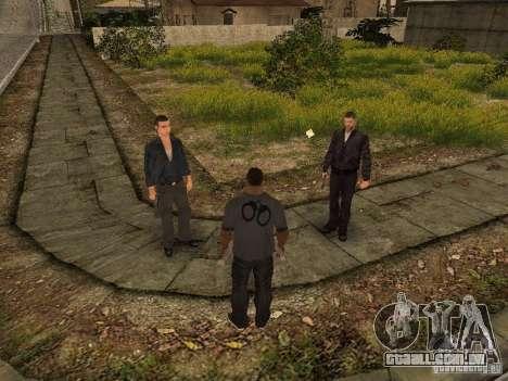 MAFIA Gang para GTA San Andreas por diante tela