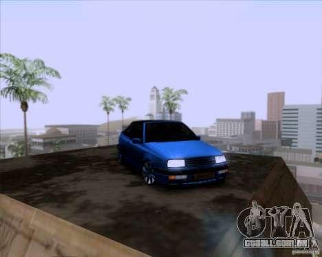 Volkswagen Golf III para vista lateral GTA San Andreas