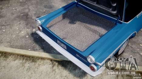 Dodge Dart 440 1962 para GTA 4 vista lateral