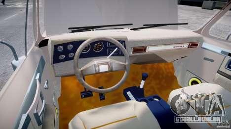 Chevrolet Blazer K5 Stock para GTA 4 vista de volta