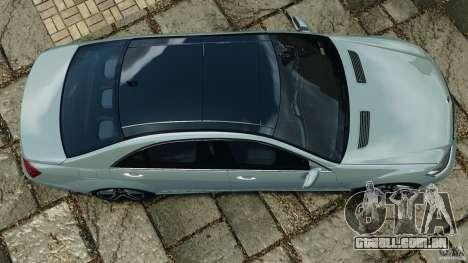 Mercedes-Benz S65 AMG 2012 v1.0 para GTA 4 vista de volta