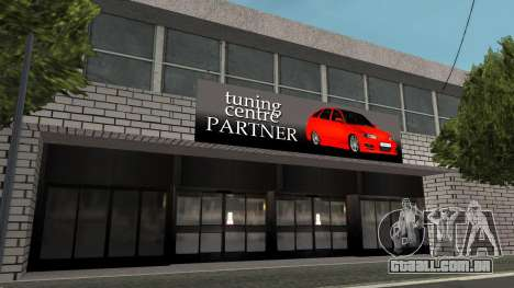 Estrutura de garagens e edifícios em SF para GTA San Andreas terceira tela