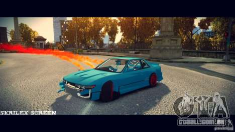 Red smoke under the wheels para GTA 4