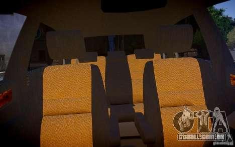 Honda CR-V Light Tuning para GTA 4 vista interior
