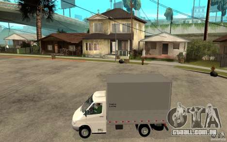 Mercedes-Benz Sprinter Truck para GTA San Andreas esquerda vista