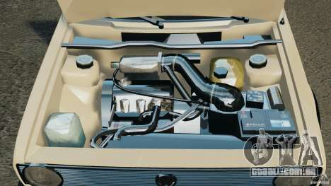 Volkswagen Golf Mk1 Stance para GTA 4 vista superior