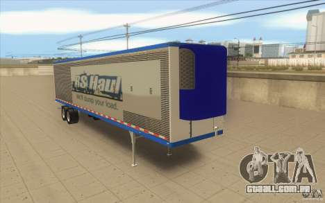 Reboque para caminhão Optimus Prime para GTA San Andreas
