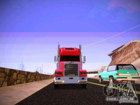 Freightliner FLD 120 para GTA San Andreas vista interior