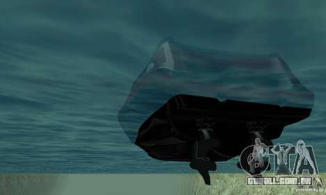 GTAIV TBOGT Floater para GTA San Andreas vista interior