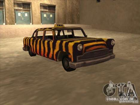 Zebra Cab de Vice City para GTA San Andreas