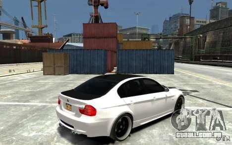 BMW 330i E60 Tuned 2 para GTA 4 vista direita