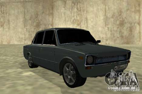2106 Vaz para GTA San Andreas esquerda vista