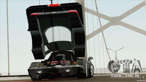 Mercedes-Benz CLK GTR Race Road Version Stock para GTA San Andreas vista direita