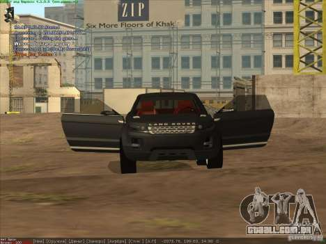 Land Rover Freelander para GTA San Andreas vista direita