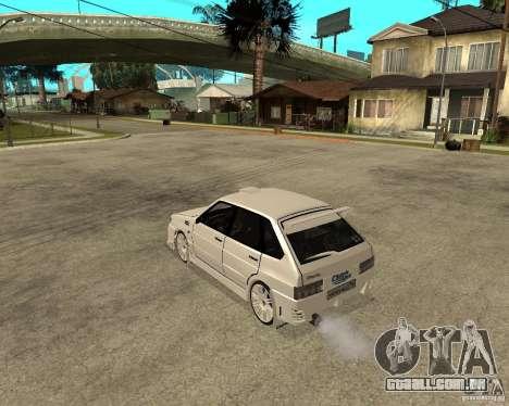 ВАЗ 2114 Mechenny para GTA San Andreas esquerda vista