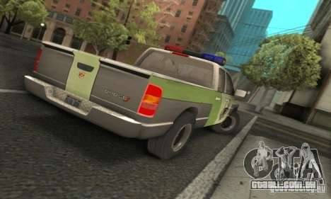 Dodge Ram 1500 POLICE 2008 para GTA San Andreas