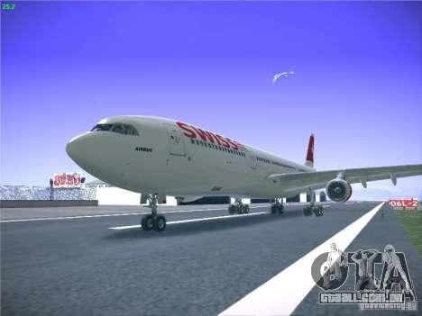 Airbus A340-300 Swiss International Airlines para GTA San Andreas