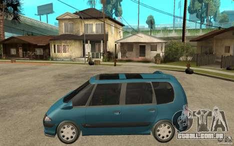 Renault Espace III 1999 para GTA San Andreas esquerda vista