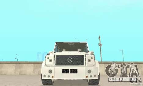 Mercedes-Benz G500 Zailer 2004 para GTA San Andreas vista interior