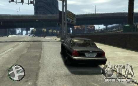 Crown Victoria para GTA 4 traseira esquerda vista