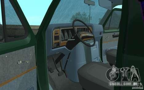 Ford E-150 Short Version v3 para GTA San Andreas vista traseira