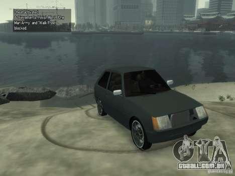 ZAZ Tavria 1102 para GTA 4 traseira esquerda vista