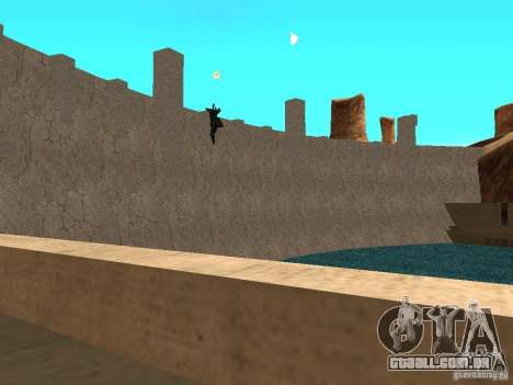 Novas texturas para barragens para GTA San Andreas