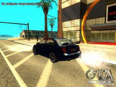 Hyundai Accent Era para GTA San Andreas vista interior