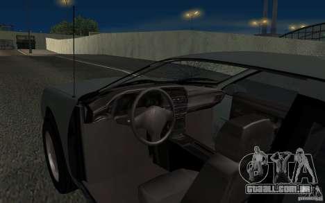Ford Thunderbird 1993 para GTA San Andreas vista superior