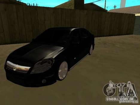 Chevrolet Vectra Elite 2.0 para GTA San Andreas
