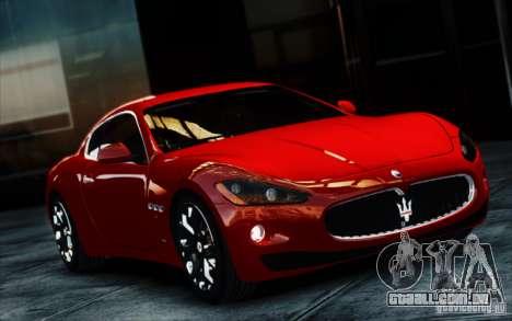 Maserati Gran Turismo S 2009 para GTA 4 vista de volta