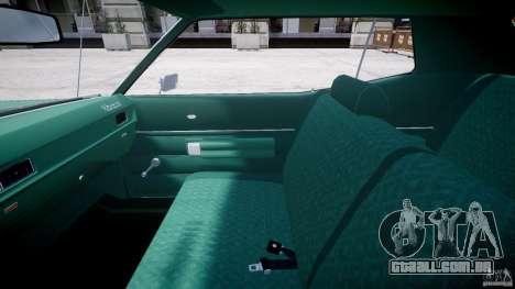 Mercury Monterey 2DR 1972 para GTA 4 vista de volta