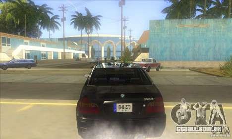 BMW 325i E46 v2.0 para GTA San Andreas vista direita