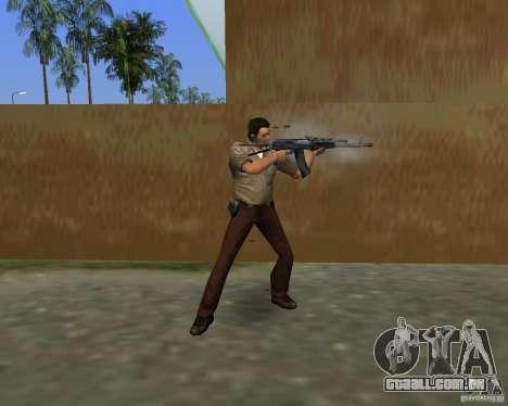 Armas de Pak de STALKER para GTA Vice City décimo tela