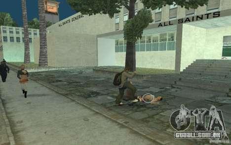Animação de GTA IV para GTA San Andreas oitavo tela