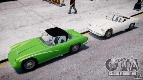FSO Syrena Sport 1960 para GTA 4 vista inferior